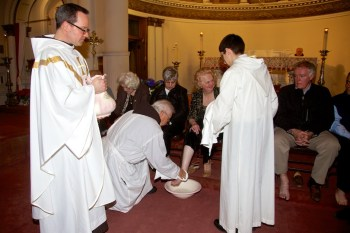 2013-03 | Holy Thursday Washing of the Feet at St Leonard Church 18