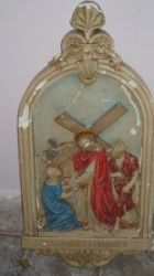 Is this Stations of the Cross item from the former St. Mary's Church in the North End? (Craigslist photo)