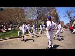 Newtowne Morris Men Perform at Christopher Columbus Park [Video]