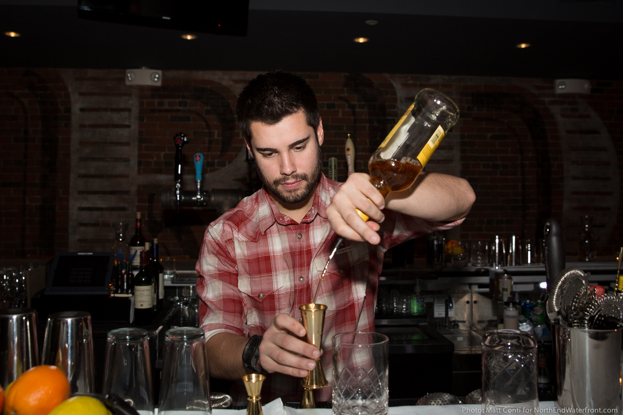 Mike Wyatt, Bar Manager at Ward 8 Restaurant & Bar