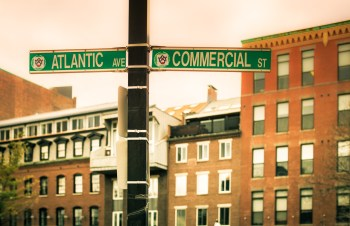 Where Atlantic Ave Meets Commercial St