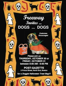 Freeway Halloween for Dogs