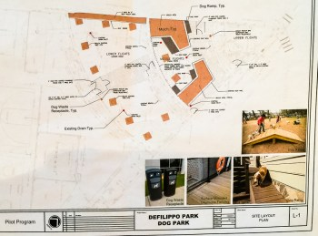 Defilippo Dog Park PIlot Plan Layout