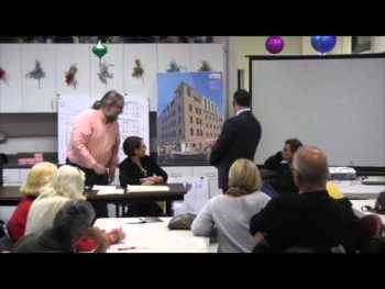 Split Vote on 102-104 Prince Street Addition at Residents' Association Meeting [Video]
