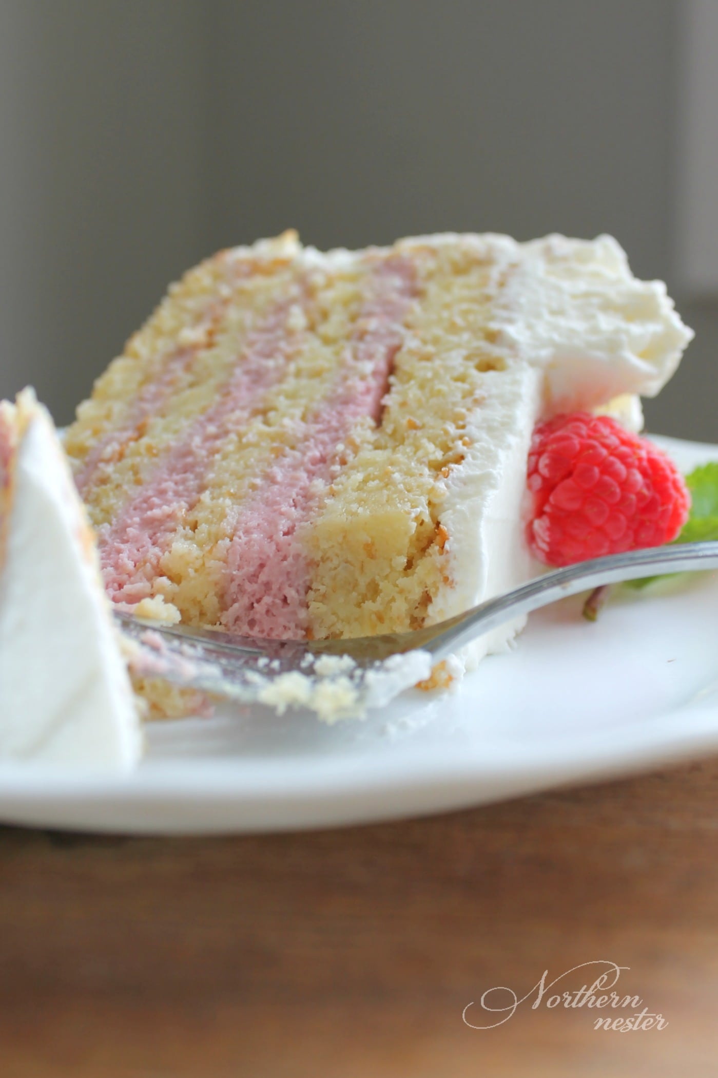 Charming Mousse Recipes Mselves Are About As Easy As Lemon Raspberry Mousse Cake S Norrn Nester But Cake This Lemon Raspberry Mousse Cake Is A Little More Involved Because nice food Raspberry Cake Filling