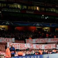 munich fans ticket price protest emirates stadium