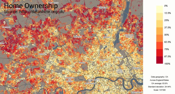 map - home ownership