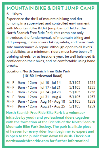 Bike camp dates