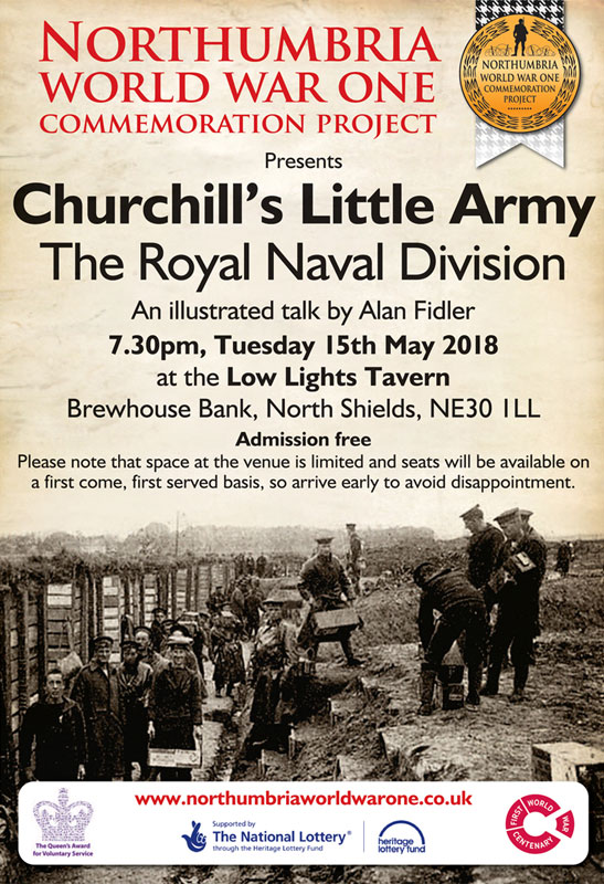 Churchill's Little Army talk 15th May