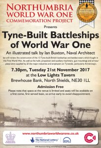 Tyne Built Battleships of World War One