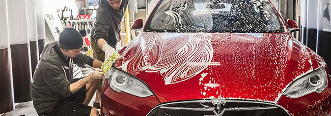 Full service hand wash car wash