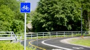 Build bicycle paths