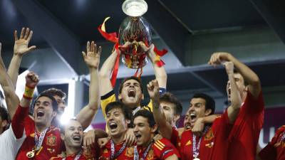 Na acht Spaanse jaren komt er een nieuwe Europees kampioen - EK voetbal 2016 - Frankrijk | NOS