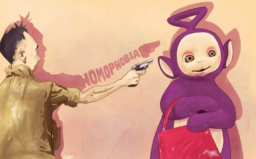 Homophobia Teletubbies