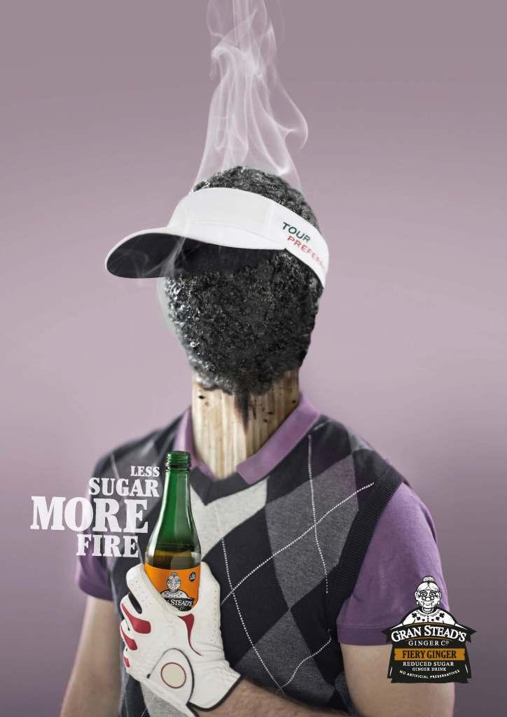 Gran Steads Fiery Ginger - Hot Head Golfer