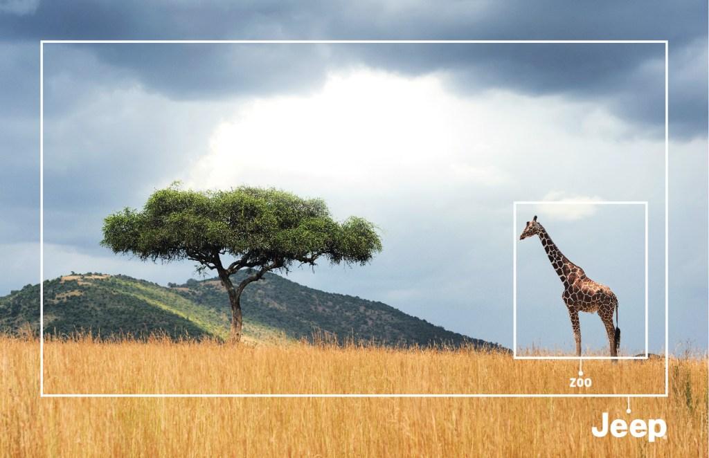 Jeep Autostar - Giraffe