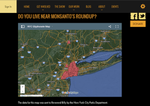 "Anti-Pesticides Activists Release Interactive Map Showing Where New York City Sprays Monsanto's Cancer-Causing ""RoundUp"" 