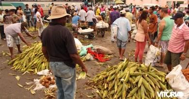 Vendas de milho movimentam véspera de São João