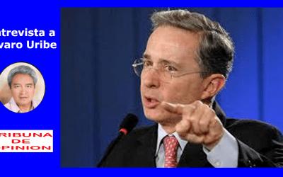 Entrevista a Alvaro Uribe