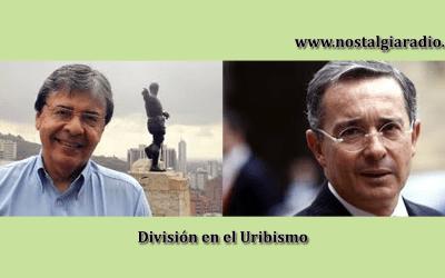 División en el Uribismo