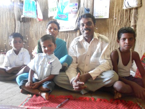 Sandeeo Dada and his family