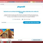 notices pdf sur site playmobil