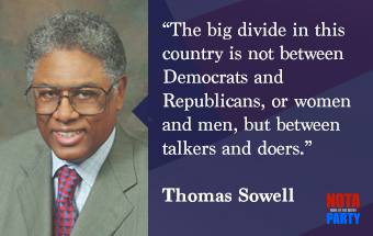 quotes-thomas-sowell-talkers-doers-division-america-democrats-republicans