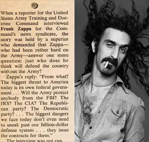 frank-zappa-army-quote