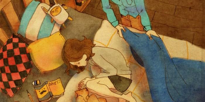 Belas ilustrações mostram do que o verdadeiro amor é feito