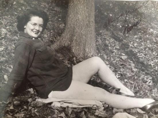 "My Gram, Helen Elizabeth Porter Conway, AKA ""Nona,"" in Autumn, 1944"