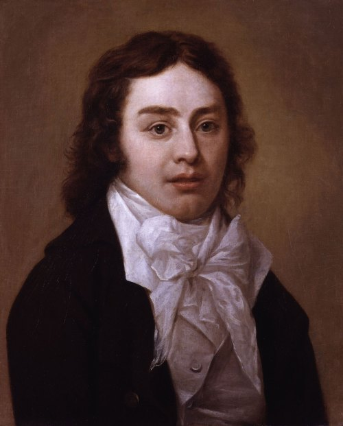 Portrait of Samuel Taylor Coleridge (1772-1834) by Pieter van Dyke, 1795, (wikimedia commons)