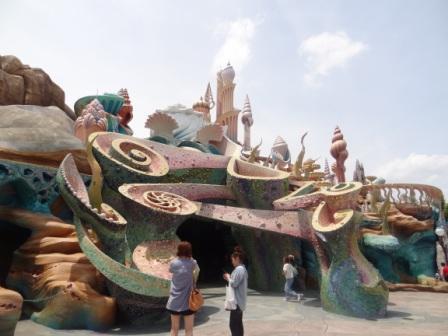 Mermaid Lagoon entrance at Tokyo DisneySea