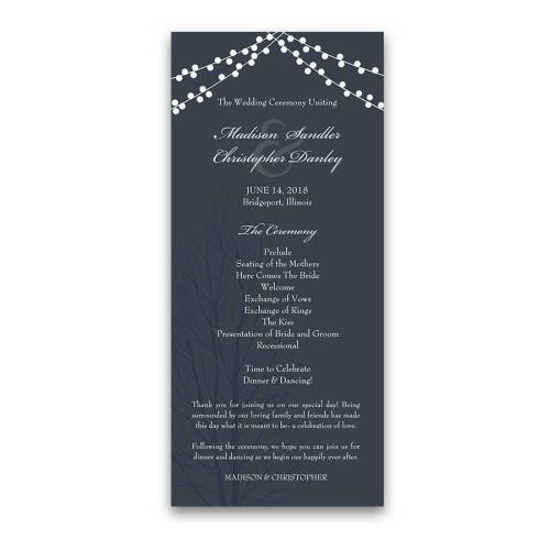 Medium Crop Of Wedding Ceremony Order