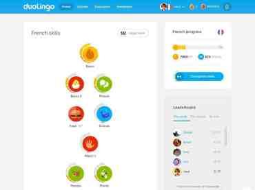 Learning languages with Duolingo
