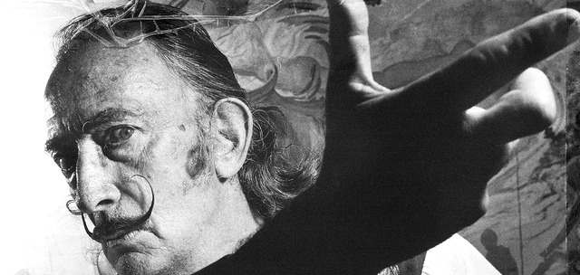 Foto de Salvador Dalí