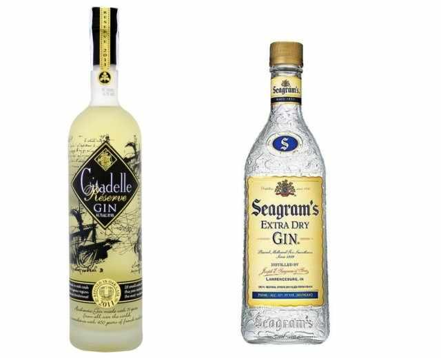Citadelle Reserve y Seagrams: ginebras envejecidas
