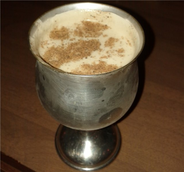 Brandy Alexander cocktail