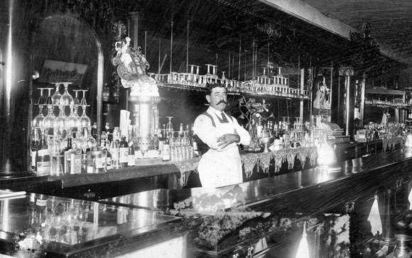 early1900s bartender