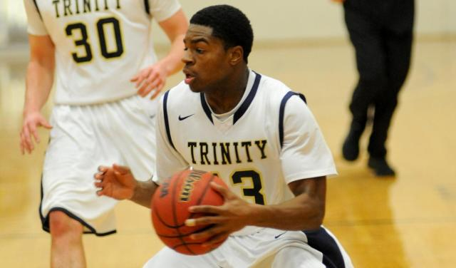Jaquann Starks '16 and Trinity are at the top of the rankings. (Courtesy of Trinity Athletics)