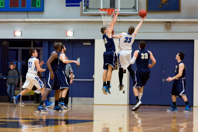 Ryan Jann '16 emerged as one of the best shooting guards in the NESCAC (Courtesy of Trinity Athletics)