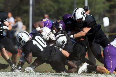 For the second straight year the Ephs stomped on the Polar Bears. (Courtesy of Bowdoin Athletics/CIPhotography.com)