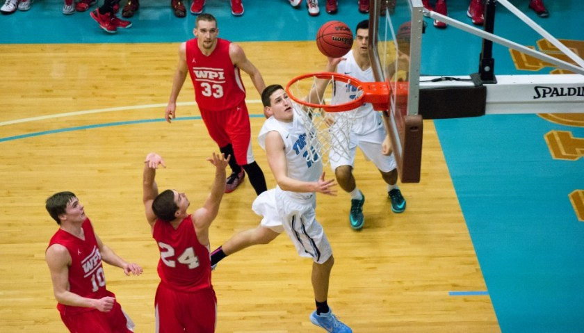 Vinny Pace '18 is a new man this season. (Courtesy of the Tufts Daily)
