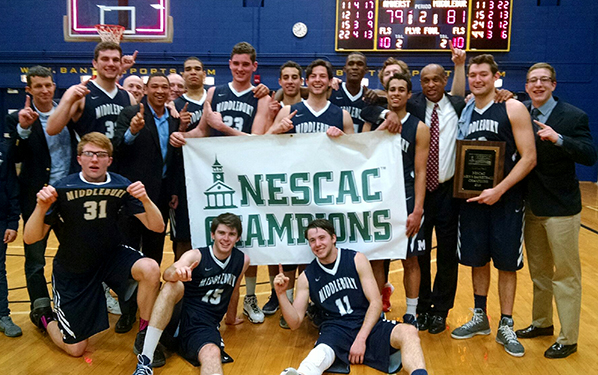 Middlebury is the NESCAC Champion for the third time. (Courtesy of NESCAC.com)