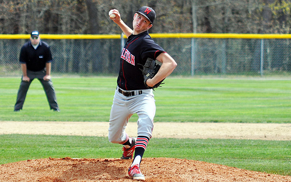 Peter Rantz '16 will try to fill the gaping whole left in the Wesleyan rotation. (Courtesy of Wesleyan Athletics)