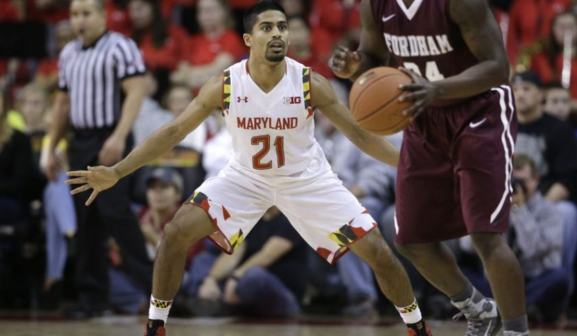 Varun Ram is a tenacious defender off the Terrapins bench. (Courtesy of the Washington Times)