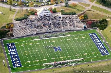 The Middlebury faithful are eager to pack the stadium on Saturday as the Panthers host Bowdoin (Courtesy of Middlebury Football).