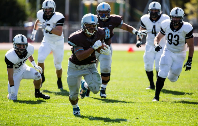 The Jumbos ran away with it on Saturday against Bowdoin (Courtesy of Tufts Athletics).