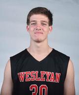 Kevin O'Brien '19 (Courtesy of Wesleyan Athletics)