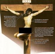 Estudioso afirma que Jesus foi crucificado sentado, nu e sem coroa de espinhos