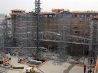 Obras do Templo de Salomão da Igreja Universal são realizadas 24 horas por dia e estão 30% concluídas